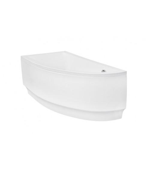 Baignoire d'angle ORIEGO 150 cm droite ou gauche avec tablier