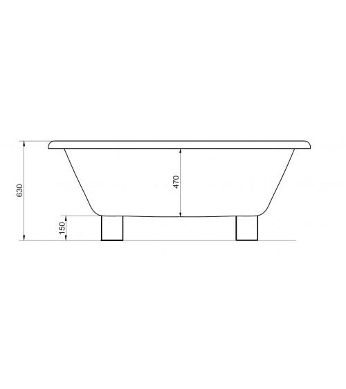 ENGARES II freestanding tub