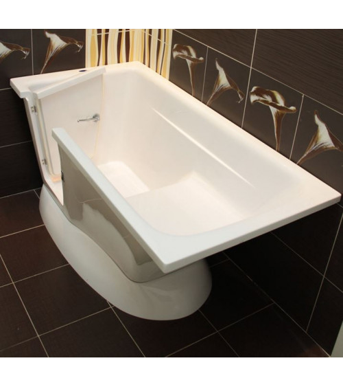 AMELIE 160x75x60 cm walk-in tub