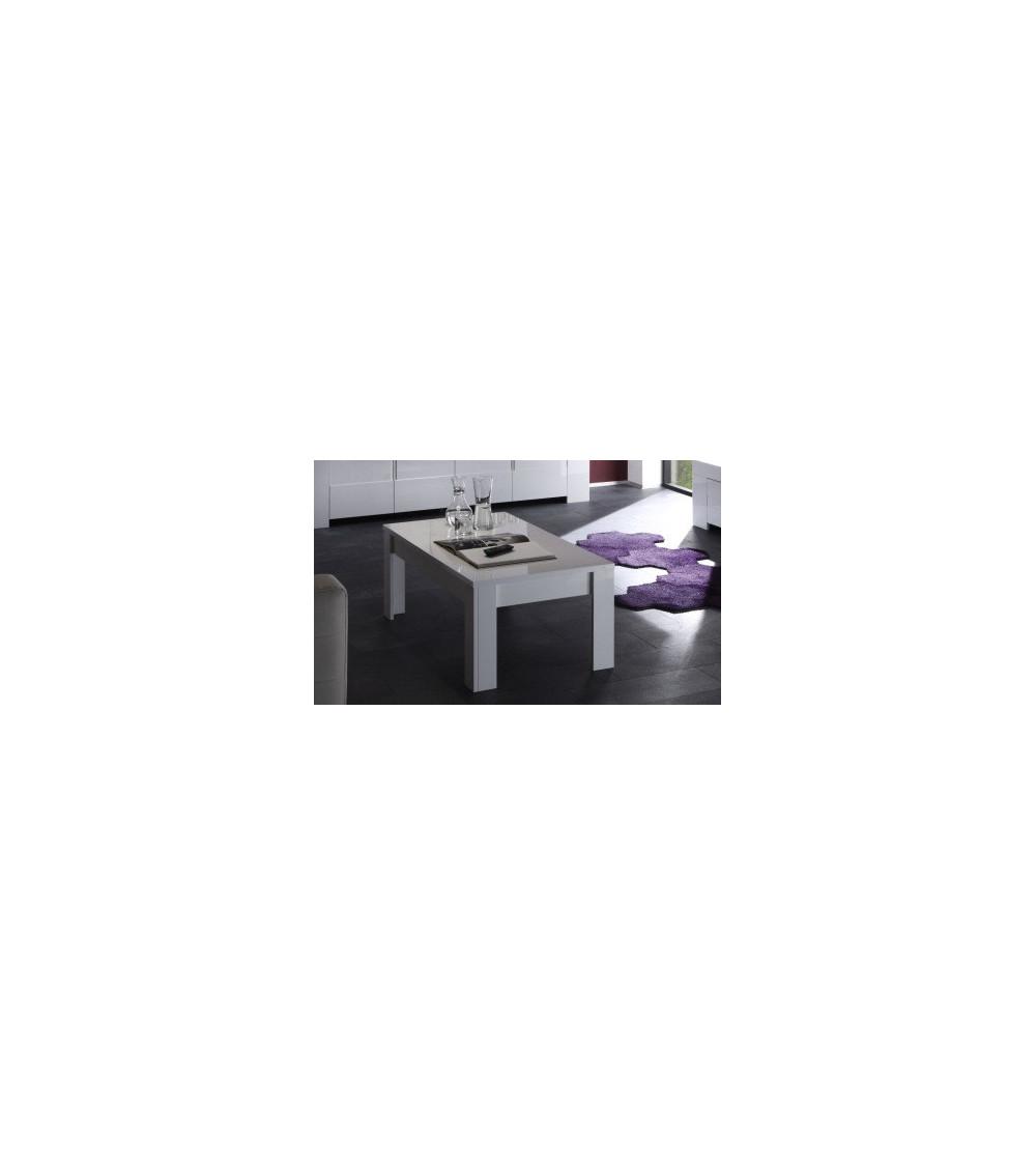 PIMONTE - ZEOS - BASIC Coffe table 122 cm, white