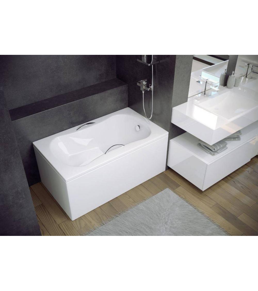 Vania bathtub 120 x 70cm - Baignoire sabot castorama ...
