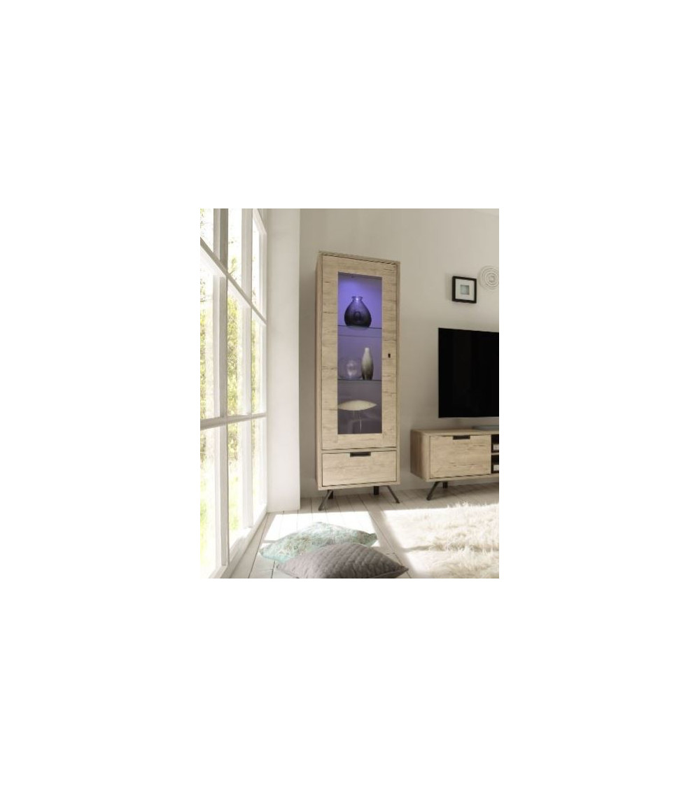 Vaisselier vitrine PALMA 56cm