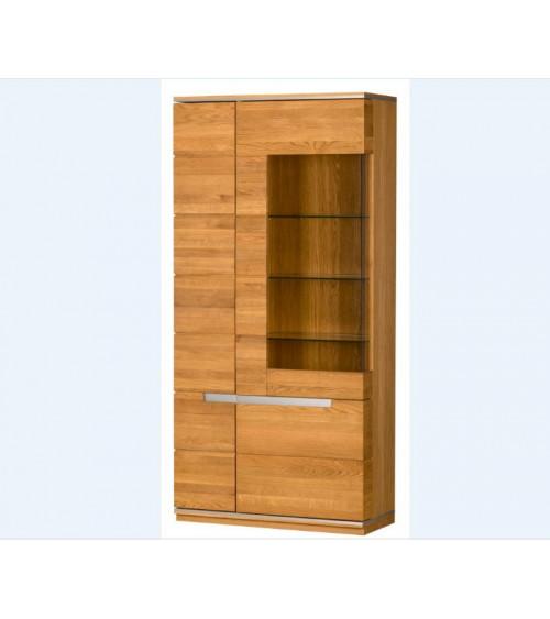 TORINO 3 doors semiglazed cupboard