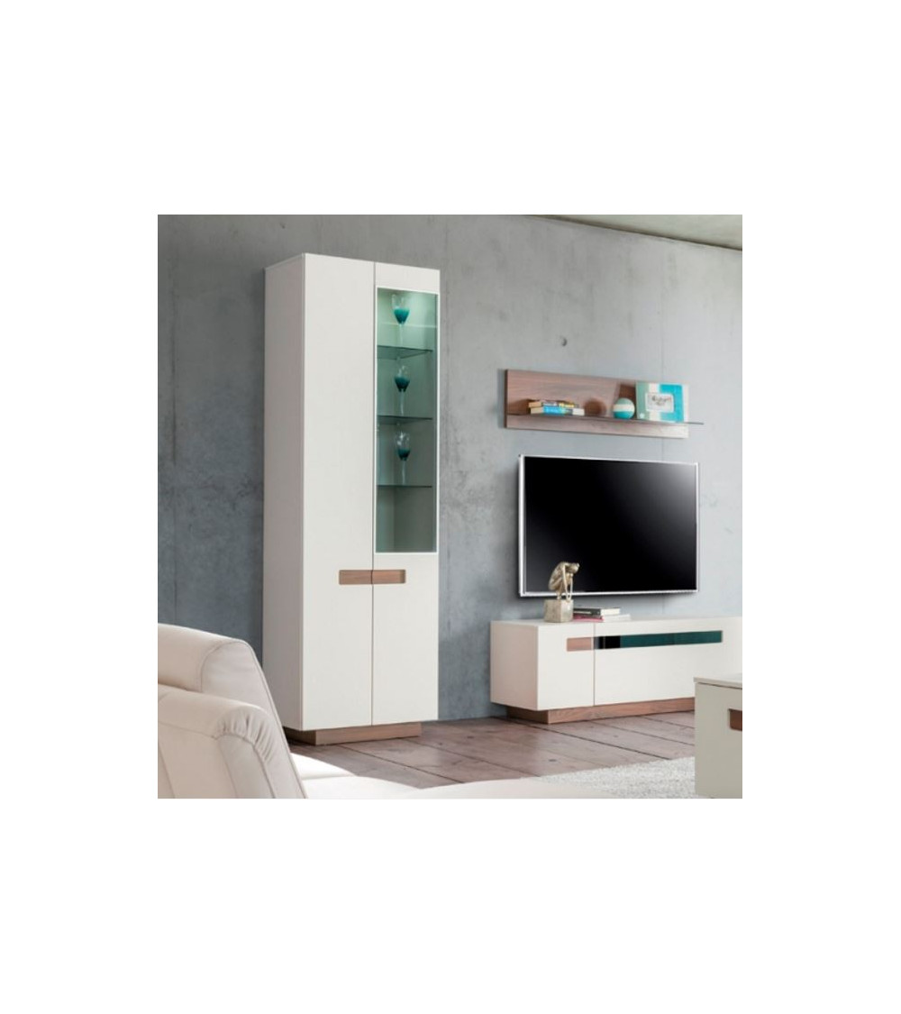 vaisselier 2 portes kashmir. Black Bedroom Furniture Sets. Home Design Ideas