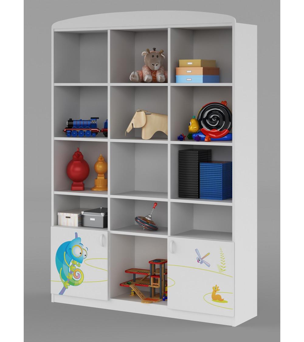 HAPPY ANIMALS  Bookcase, 135cm