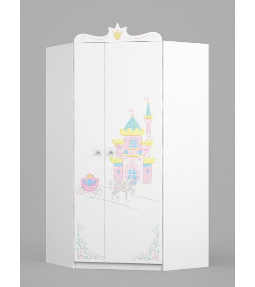 MAGIC PRINCESS Corner Wardrobe