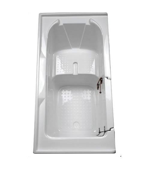 Kleido walk-in bathtub