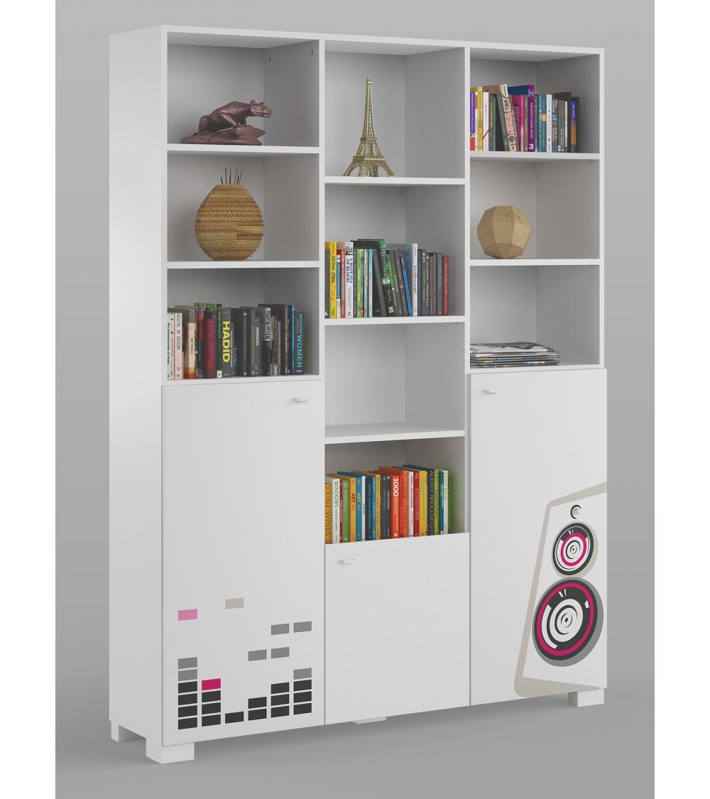 MUSIC Bookcase,150 cm