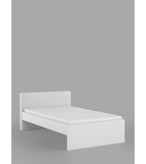 WHITE HORSE bed, 120 cm