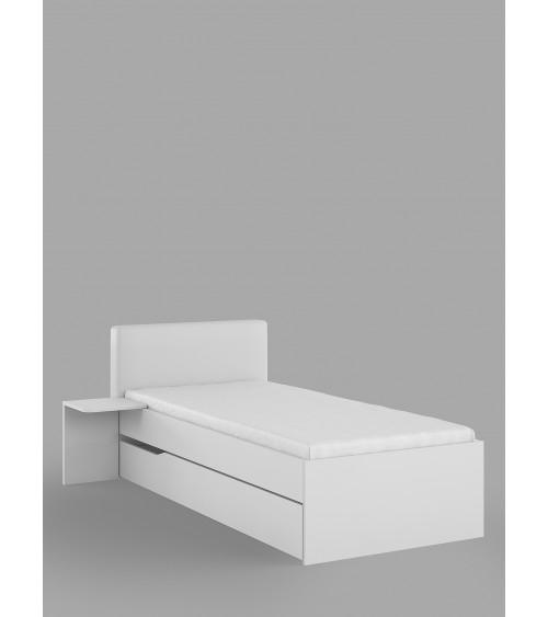 WHITE HORSE BED, 90 cm