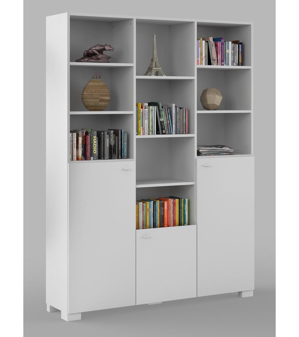WHITE HORSE Bookcase, 150 cm
