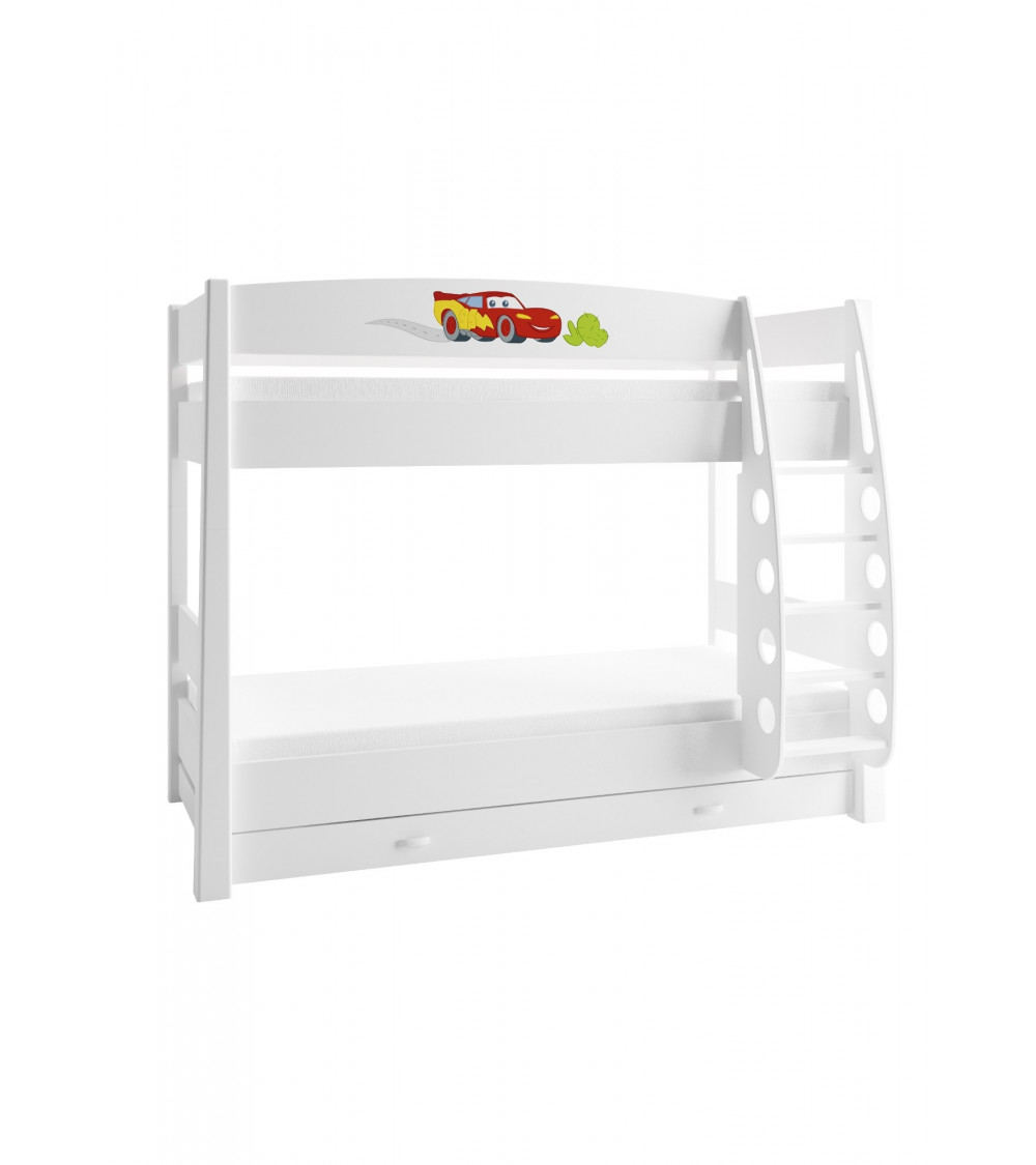 CARS Double bunk bed