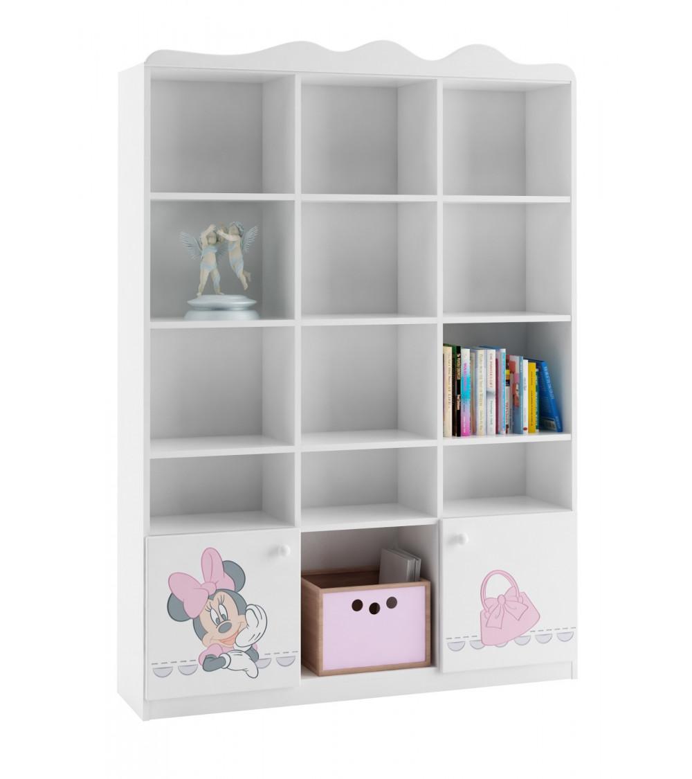 MINNIE MOUSE Bookcase, 135cm