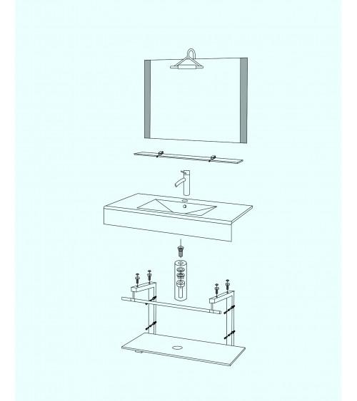 Saragosse Bathroom Furniture
