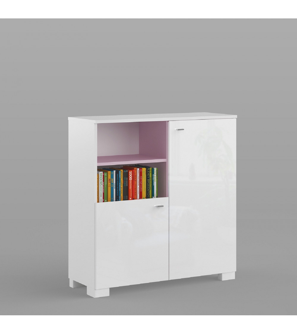 Low Bookcase GIRLY 100cm