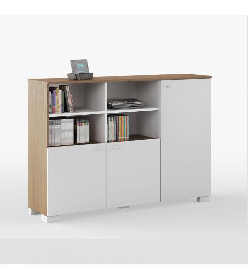 Low Bookcase NATURE 150cm