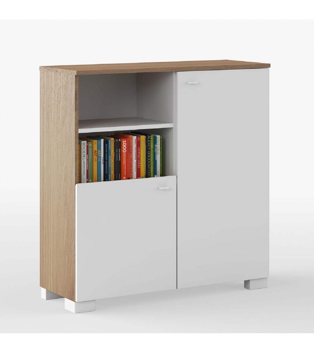 Low Bookcase NATURE 100cm
