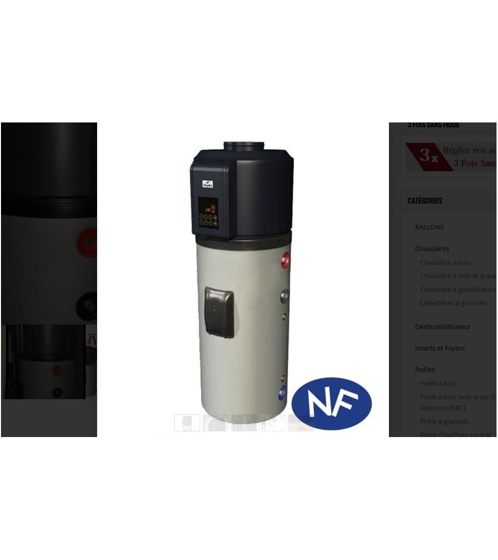 solar heat pump tank HBC 300L SOLAIRE