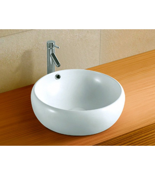 COCOON freestanding basin - white