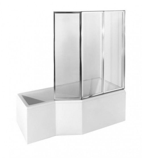 INTEGRA Asymmetric Bathtub 150/170cm