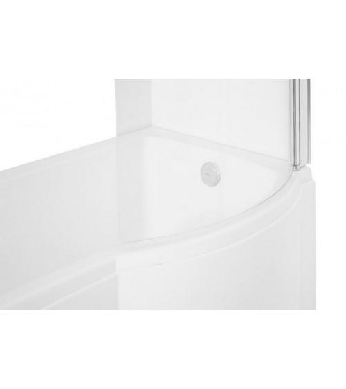 baignoire inspiro 150 160 170 cm x 70 cm avec pare. Black Bedroom Furniture Sets. Home Design Ideas