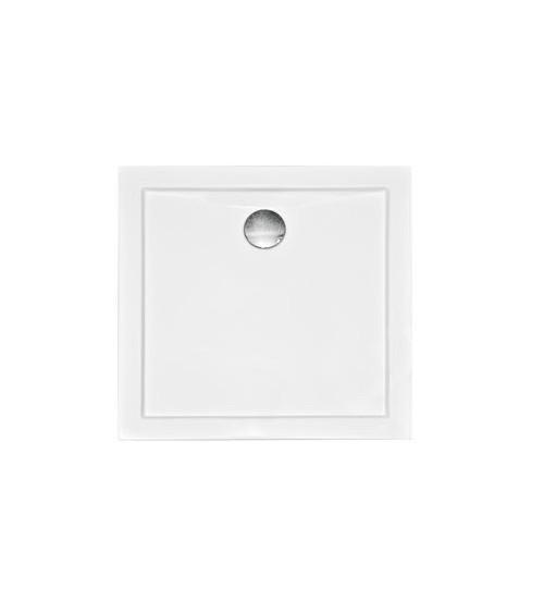 Receveur de douche AQUA acrylique blanc 90x90x5.5cm