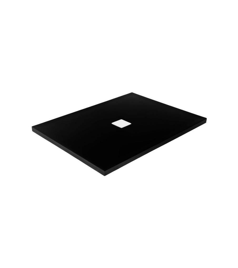 TOP  shower tray black