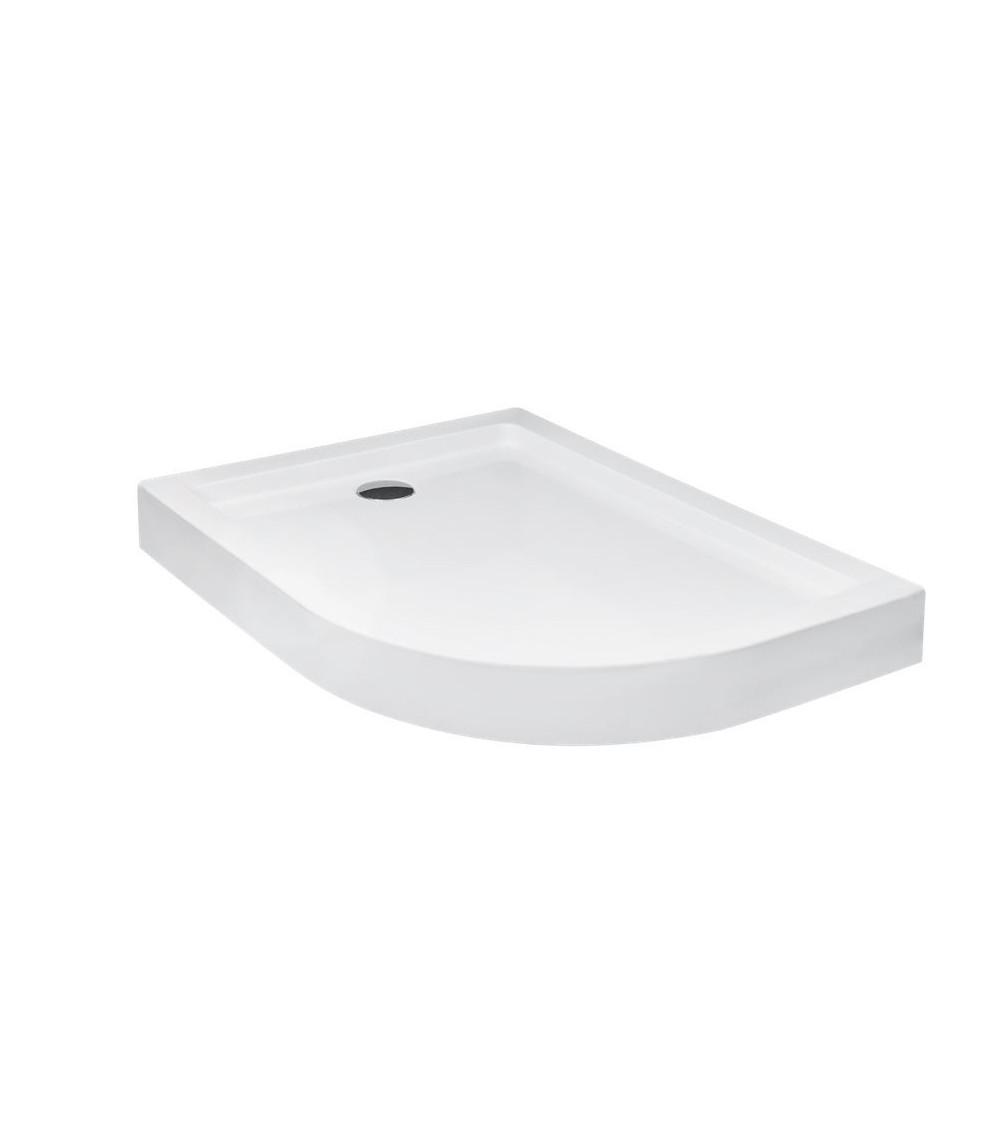 TANDRANO shower tray, 120x90x4 cm