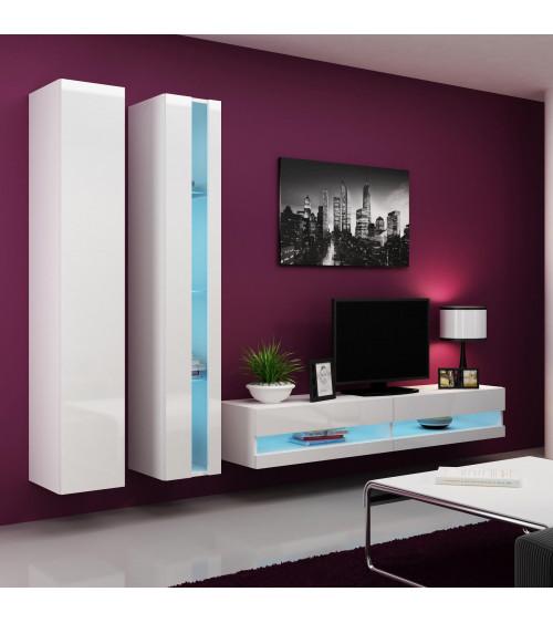CHELSEA  TV Storage ,white