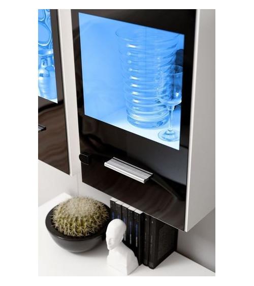 CORTE II. TV Storage combination, grey