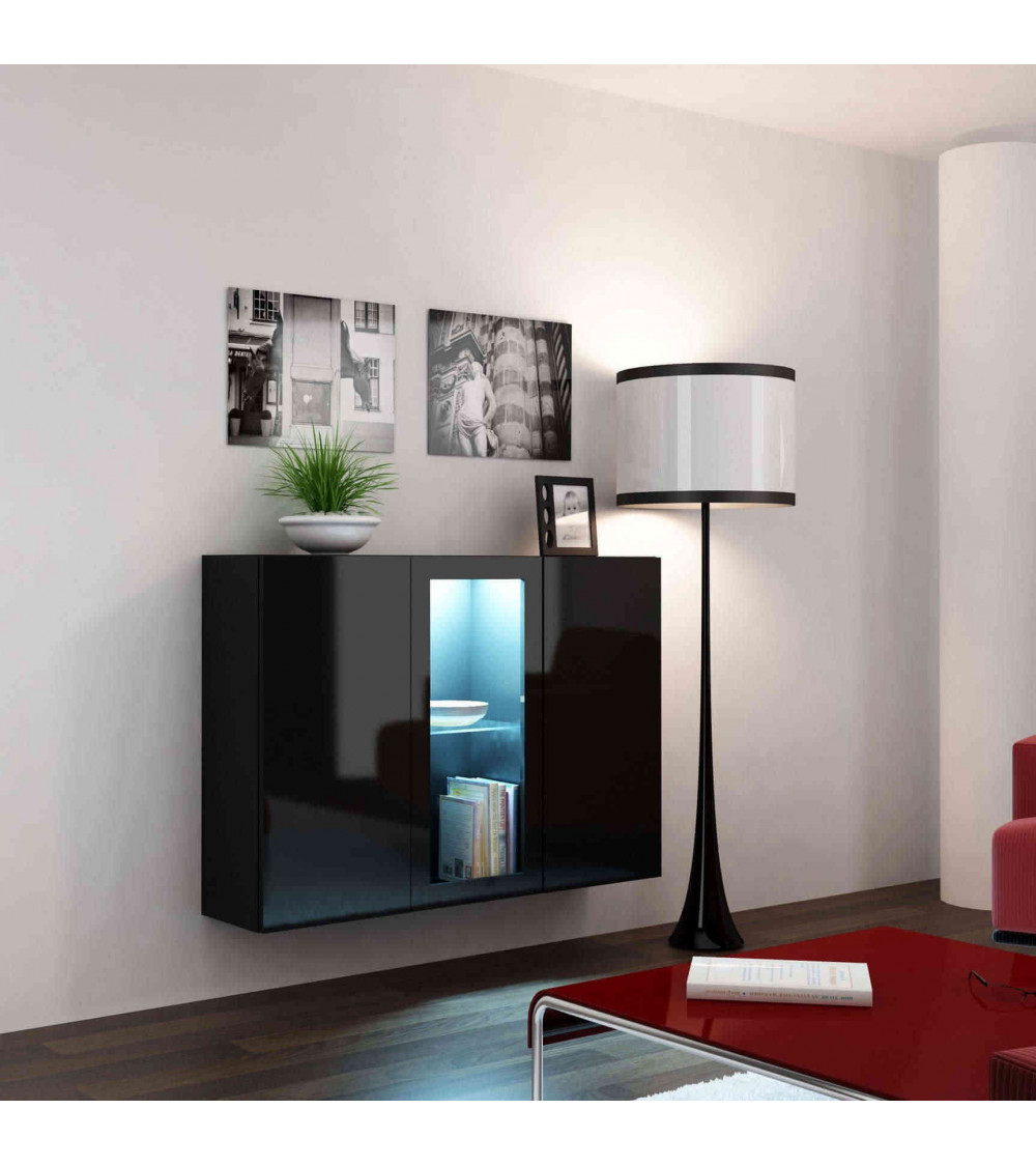 IBIZA Black sideboard