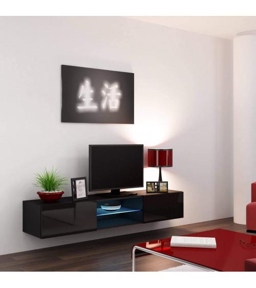 Meuble TV BLACK STORM 180cm