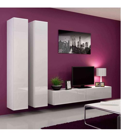 PARIS TV Storage ,white