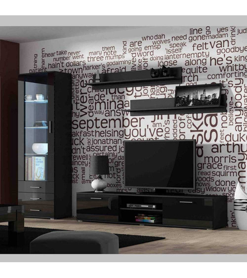Ensemble TV SOHO I 180  noir ou blanc