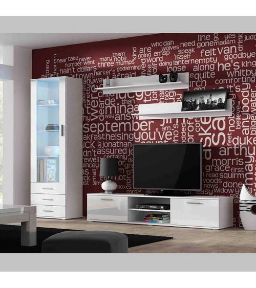 Meuble TV SOHO I 180  noir ou blanc