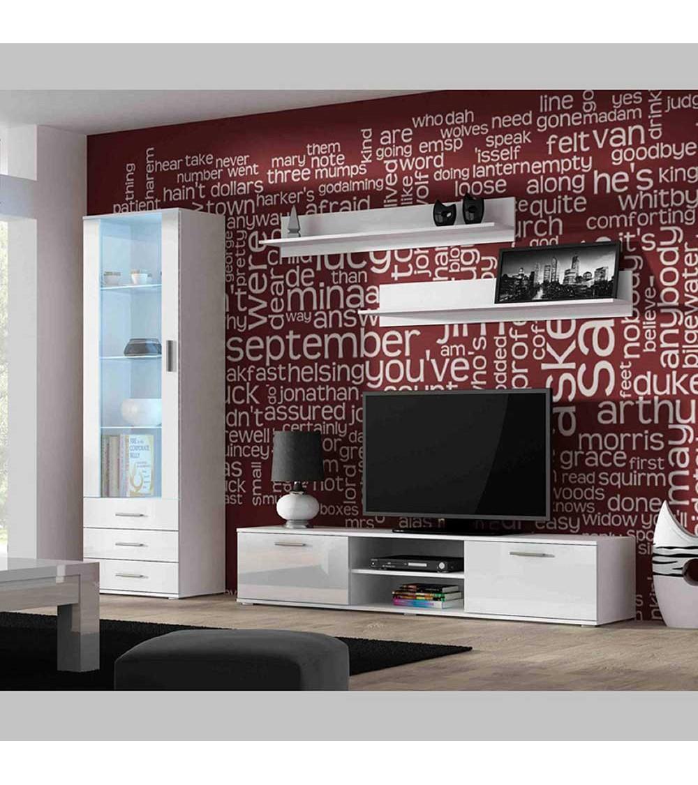 Ensemble TV SOHO I 180  noir ou blanc
