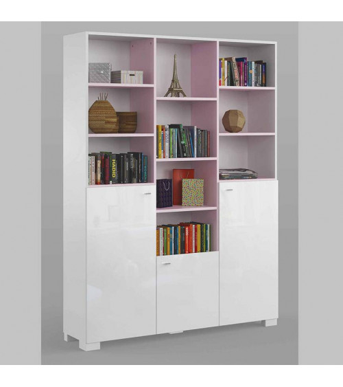 Bookcase GIRLY 150cm