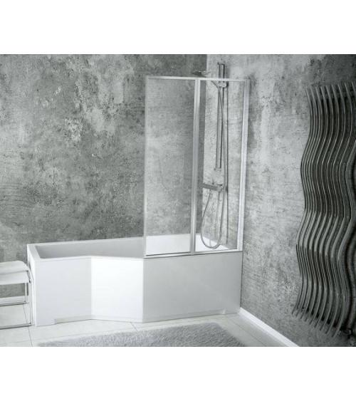 CATRIX bath screen, 80.5 x 140 cm