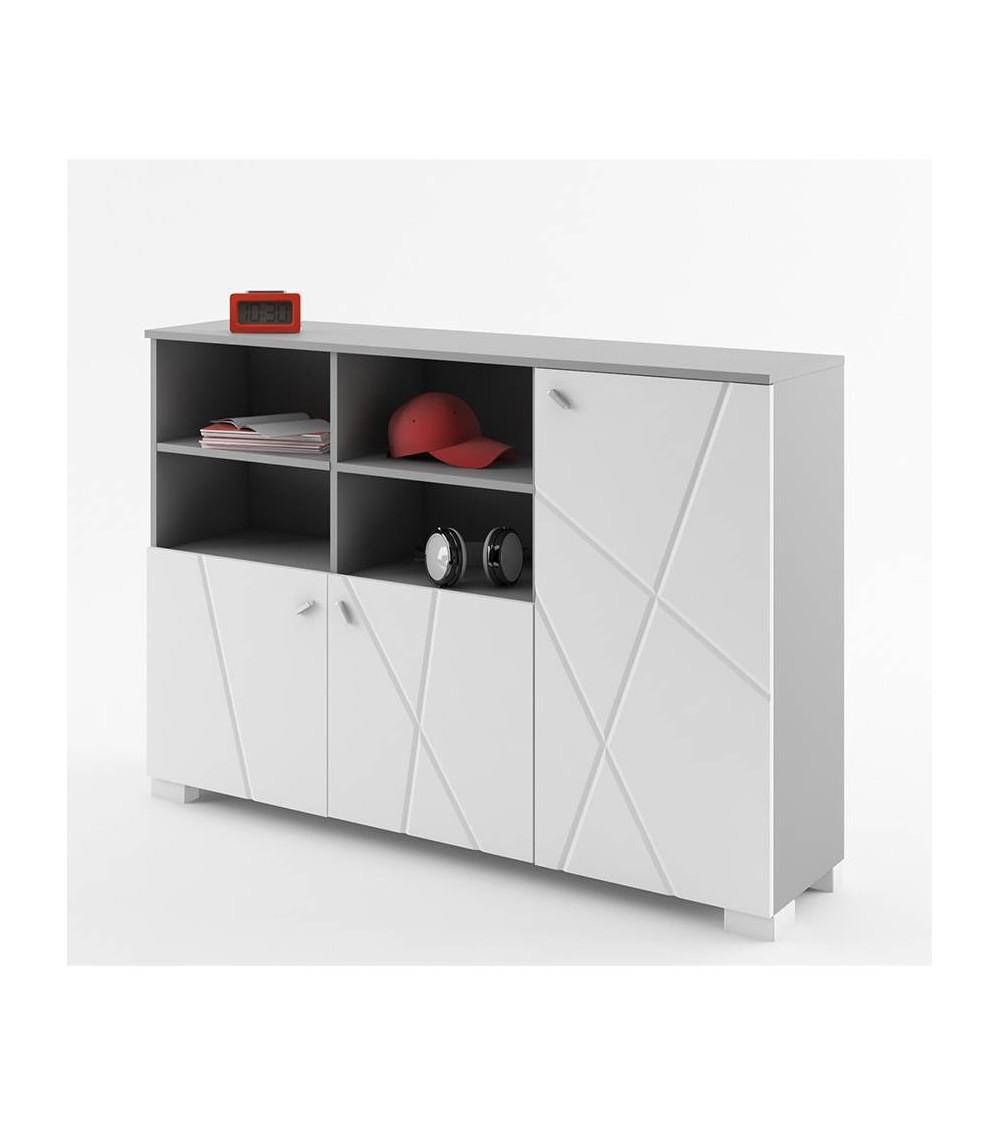 Bibliothèque basse  X-ONE 150cm