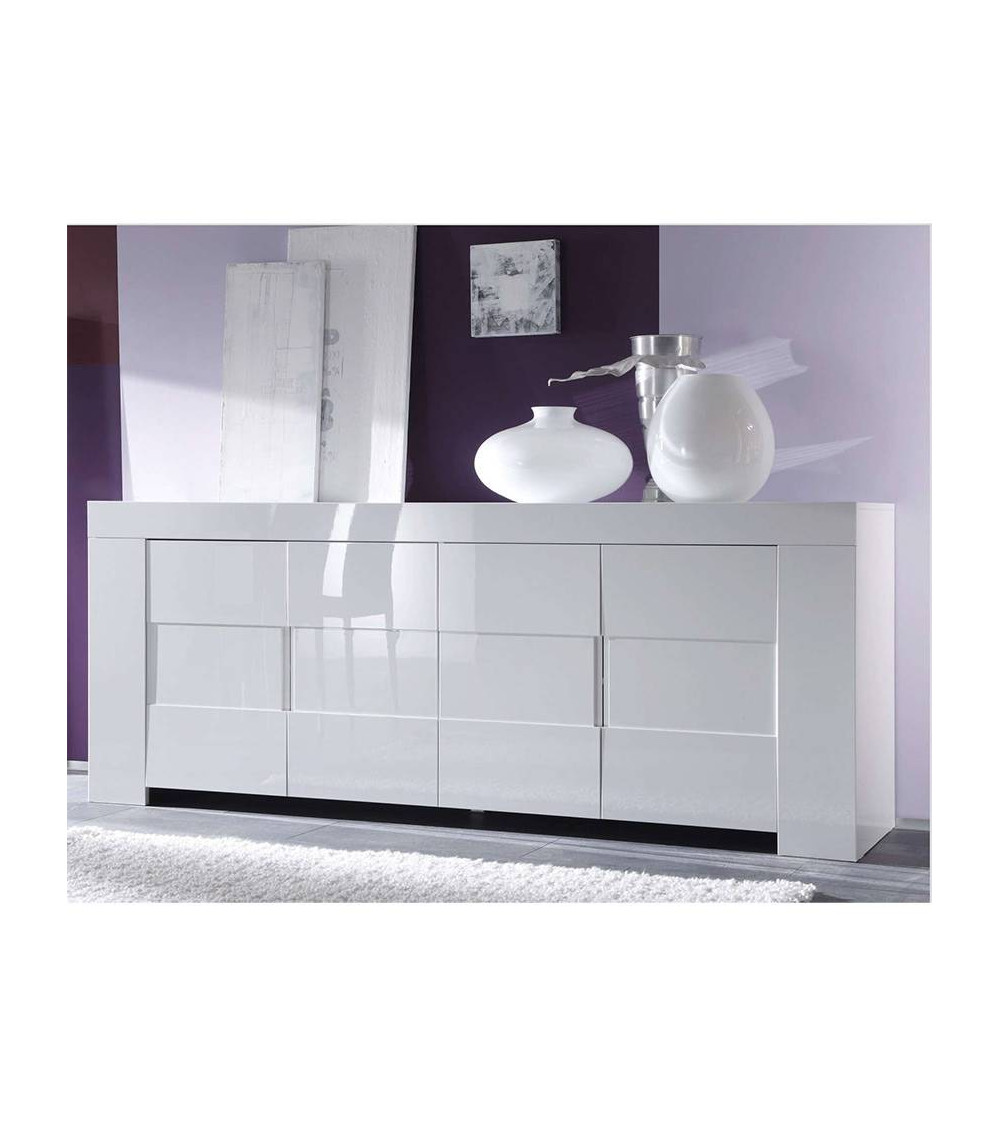 ZEOS SIDEBOARD 210CM WHITE