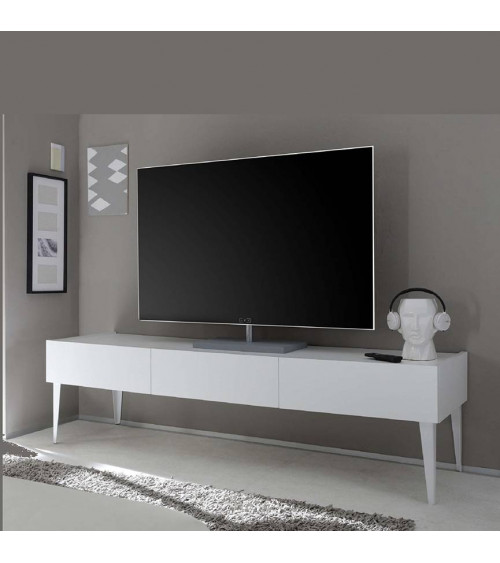 Meuble TV  REX blanc 184cm