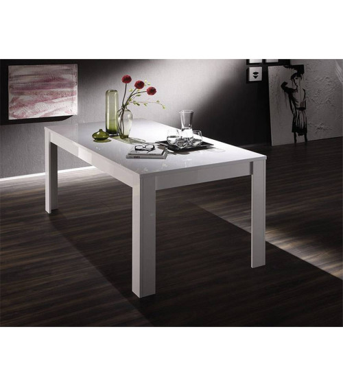 Table de salon BASIC, 140*90 cm, blanc