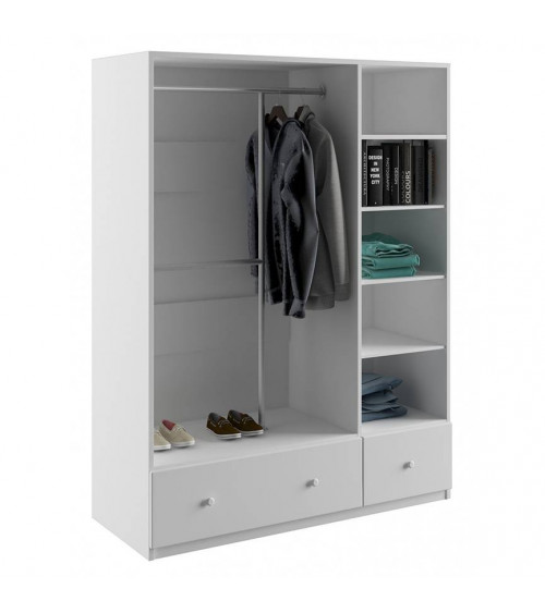 ORCHID VIOLET wardrobe, 135 cm