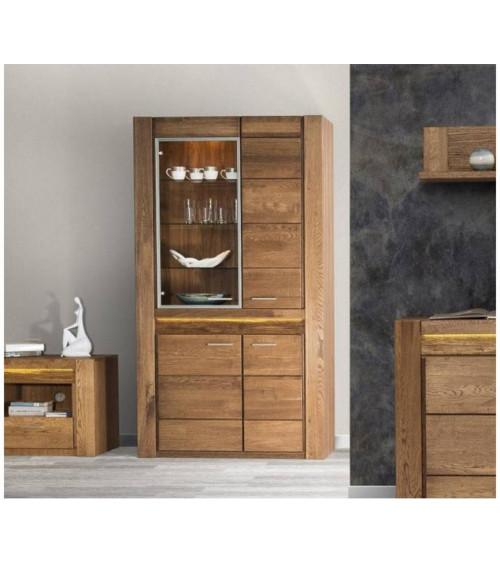 VELVET 4 doors semiglazed cupboard