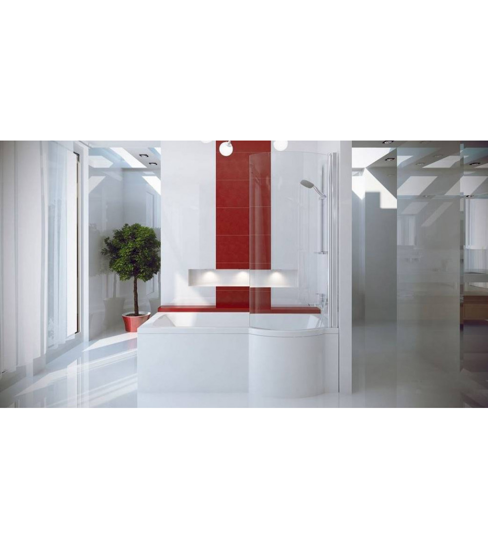 INSPIRO Asymmetric Bathtub 150/160/170cm