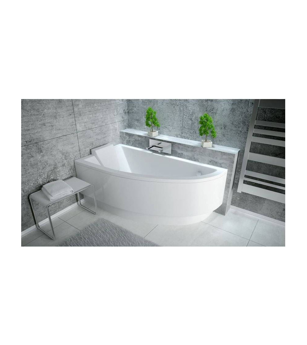 ORIEGO Corner Bathtub LEFT OR RIGHT with apron