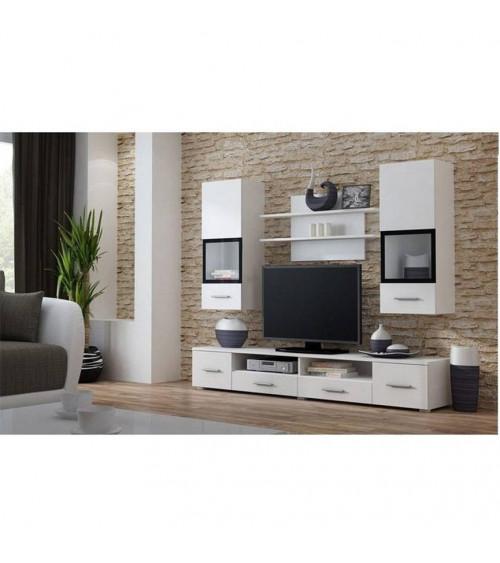 SNOW white TV Storage combination