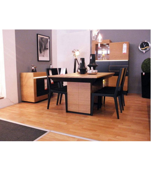 dining room complete set FUTURIS black