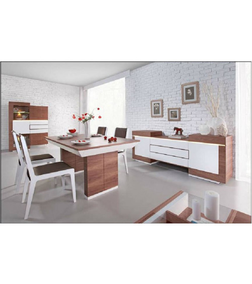 dining room complete set FUTURIS white