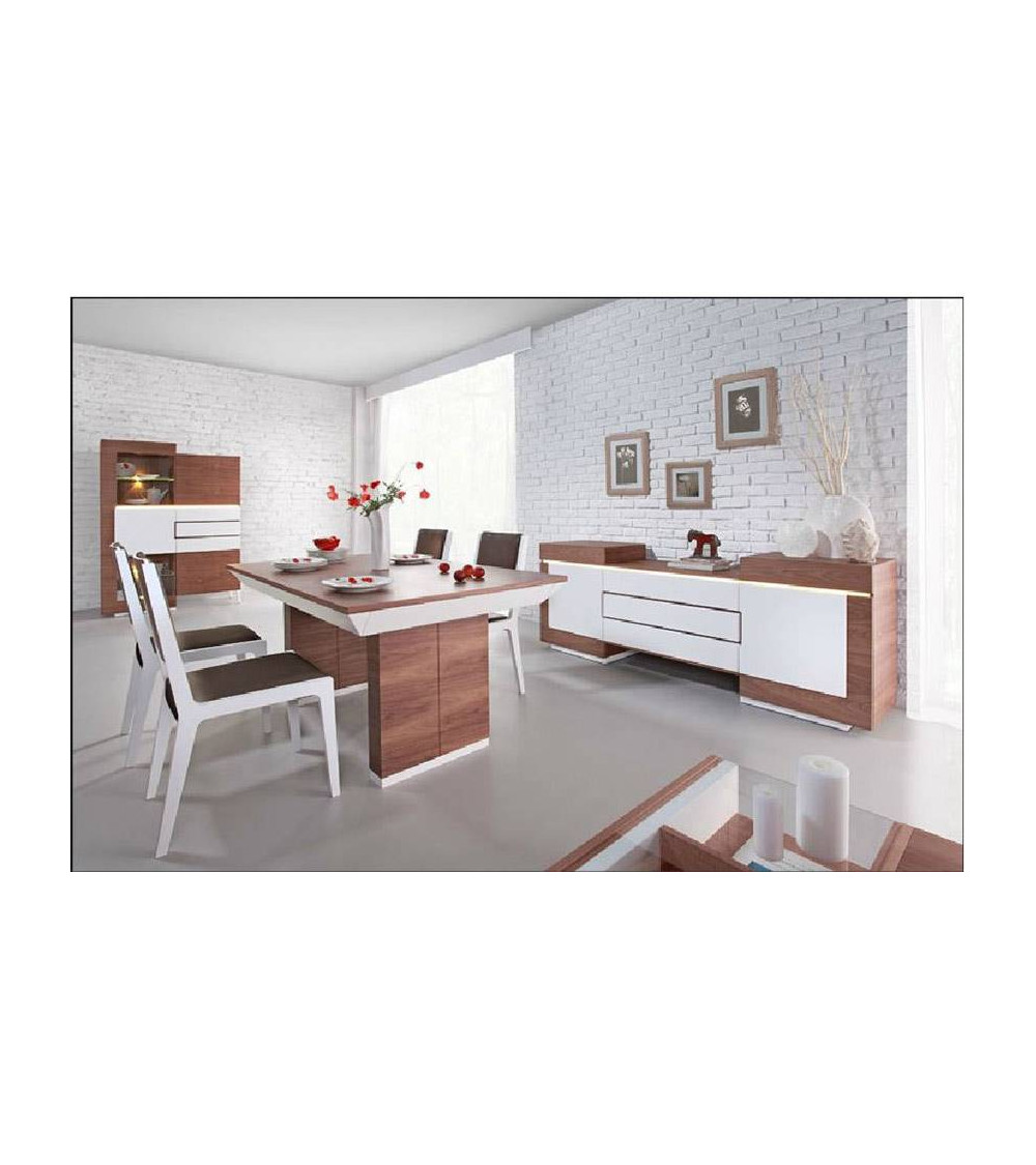 dining room complete set FUTURIS white